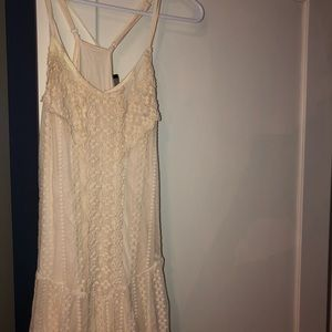**2 for $25!!**Cream maxi dress